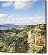 Andalusia Landscape In Spain Canvas Print