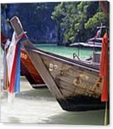 Andaman Sea Water Taxi Canvas Print