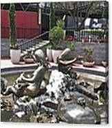 Andrea's Fountain At Ghirardelli Square Canvas Print