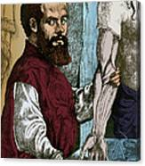 Andreas Vesalius, Flemish Anatomist Canvas Print