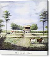 Andrew Jackson: Hermitage Canvas Print