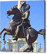 Andrew Jackson Statue Canvas Print