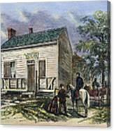 Andrew Johnson: Tailor Canvas Print