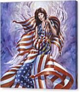 Angel America Canvas Print