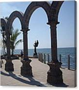 Angel At Puerto Vallarta Canvas Print