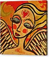 Angel Dreaming Canvas Print