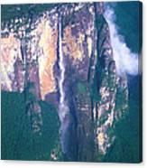 Angel Falls In Venezuela Canvas Print