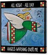 Angel Flight Poster Canvas Print