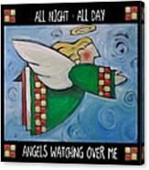 Angel Flight Poster Canvas Print