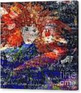 Angel Koi Blend Canvas Print