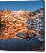 Angel Lake Alpenglow Canvas Print