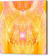Angel Of Divine Protection Canvas Print