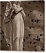 Angel Of Stone S Canvas Print