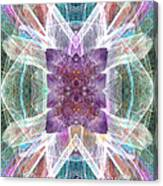 Angel Of The Crystal World Canvas Print