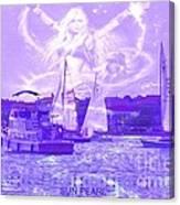 Angel Skies Canvas Print