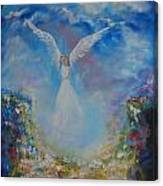 Angel Whisperings Canvas Print