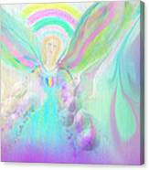 Angel Working Canvas Print