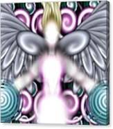 Angelic Flares Canvas Print