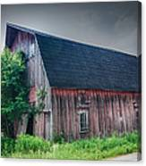 Angelica Barn In Hdr Canvas Print