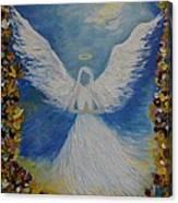 Angels Prayer Canvas Print