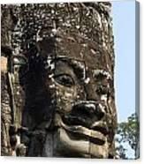 Angkor Thom Fae Canvas Print