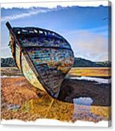 Anglesey Shipwreck Canvas Print
