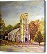 Anglican Church Beechworth  Victoria Canvas Print