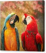 Animal - Parrot - We'll Always Have Parrots Canvas Print