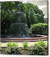 Annapolis Fountain Canvas Print