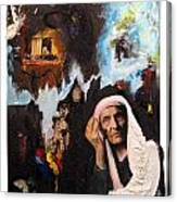 Anneannem And Memory Canvas Print