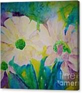Anne's Flowers Canvas Print