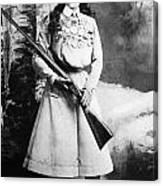 Annie Oakley (1860-1926) Canvas Print