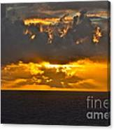Another Caribbean Sunset Canvas Print
