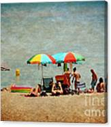 Another Day At The Beach Canvas Print