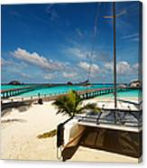 Another Day. Maldives Canvas Print