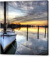 Another December Sunrise Canvas Print