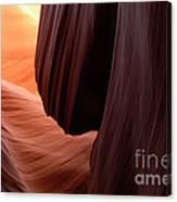 Antelope Canyon Living Rock Canvas Print