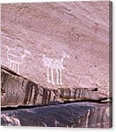 Antelope House Petroglyphs Canvas Print