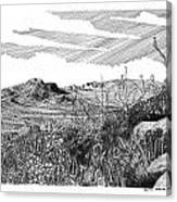 Anthony Gap New Mexico Texas Canvas Print