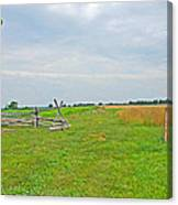 Antietam Battle Of The Cornfield Canvas Print