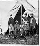Antietam: Officials, 1862 Canvas Print