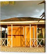 Antiguan Beach Hut Canvas Print