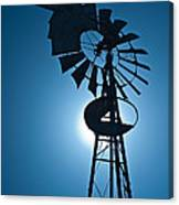 Antique Aermotor Windmill Canvas Print