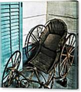 Antique Baby Carriage Canvas Print