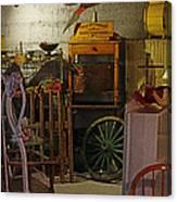 Antique Basement Canvas Print