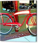 Antique Bicycle Canvas Print