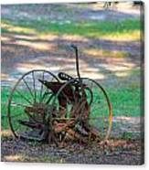 Antique Farm Equipment Canvas Print