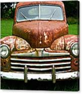 Antique Ford Car 8 Canvas Print