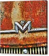 Antique Mercury Auto Logo Canvas Print