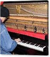 Antique Playtone Piano Canvas Print